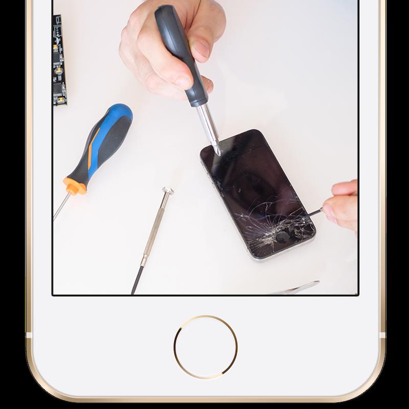iPhone修理、出張サービス